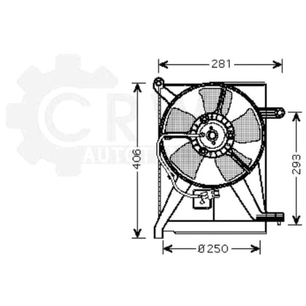 Fan Engine Cooling Radiator Blower Motor Daewoo Lanos Notchback Diagram The Articles Illustrated In This Range Are Generally Not Original Parts Unless They Marked As Such A Usd Rcklich