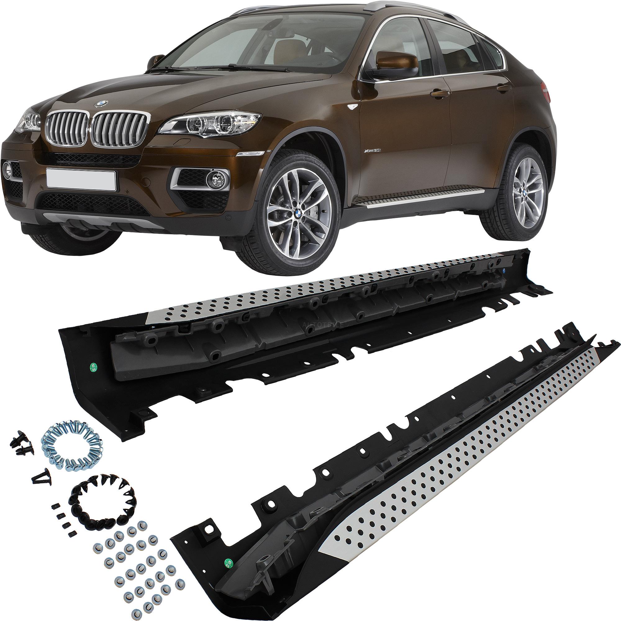 Bmw X6 Xdrive50i: BMW X6 E71 E72 Manufactured 08-14 Set Kick Boards SILLS