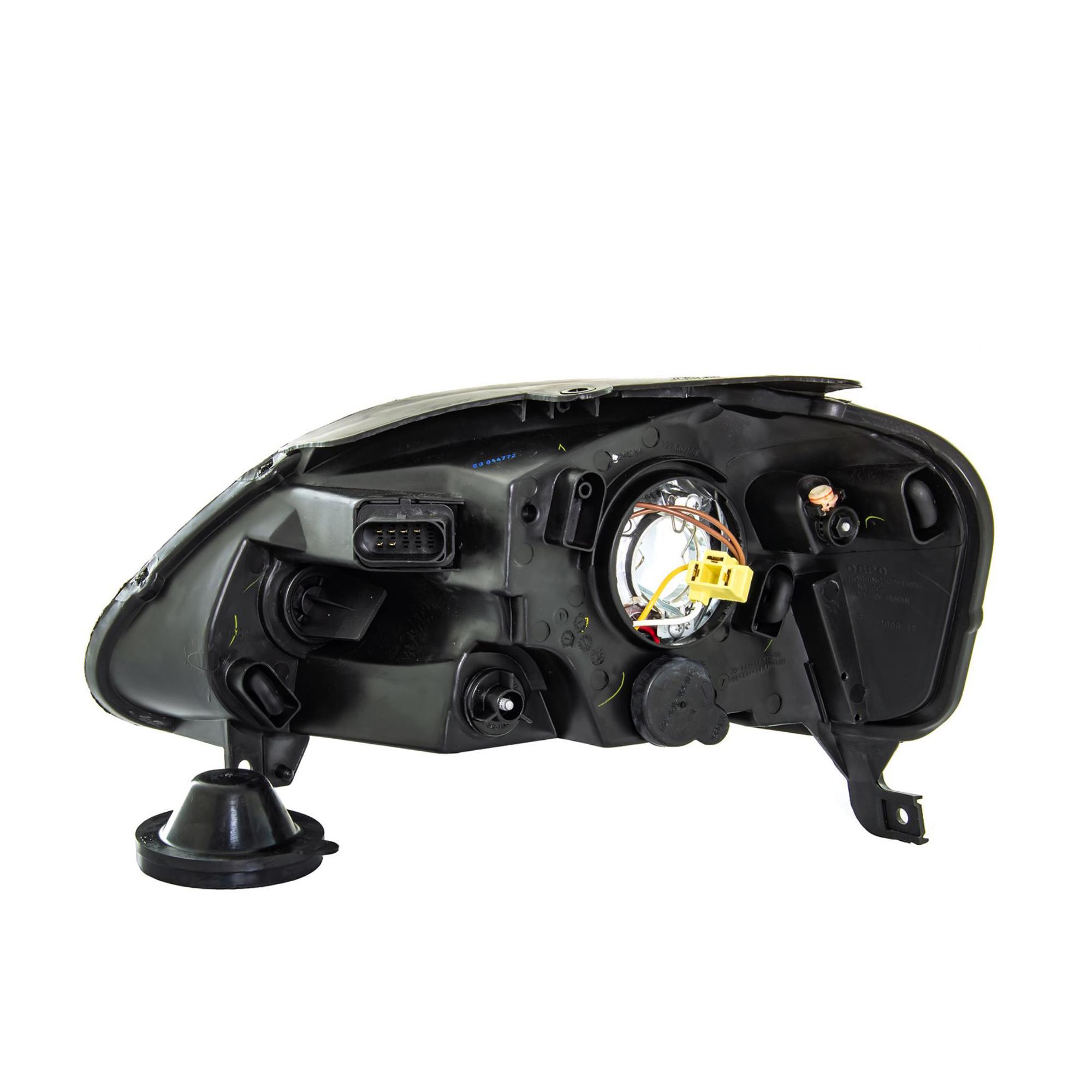 scheinwerfer rechts vw volkswagen fox typ 5z bj 05 07 h4. Black Bedroom Furniture Sets. Home Design Ideas