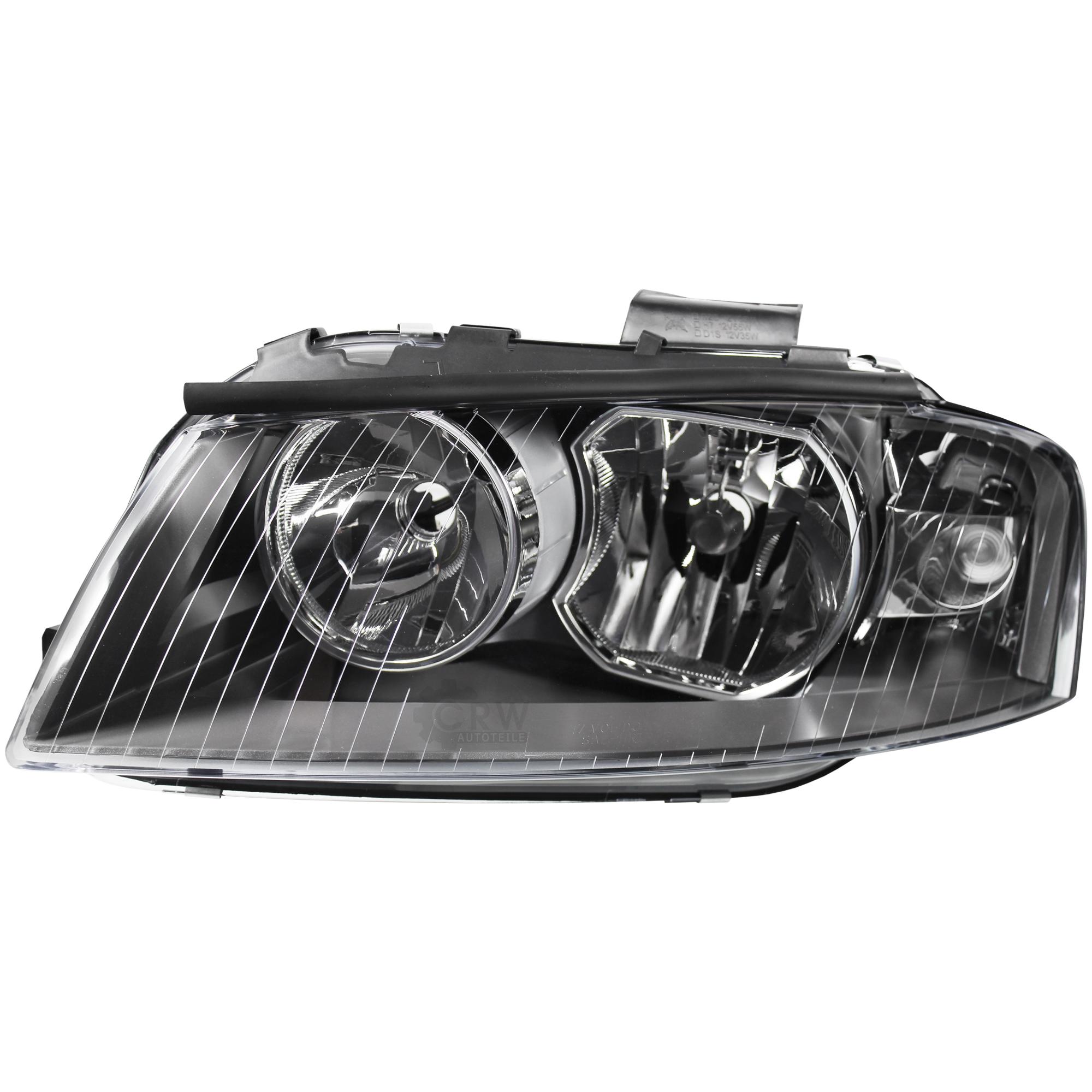 8P1 03//03-/>/> inkl Motor H7+H7 Bj Scheinwerfer Set für Audi A3