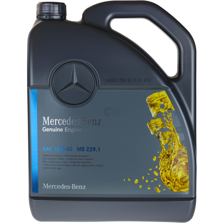 5L-Inspektionspaket-Mercedes-229-1-Motoroel-10W-40-MANN-Olfilter-11114062 Indexbild 2
