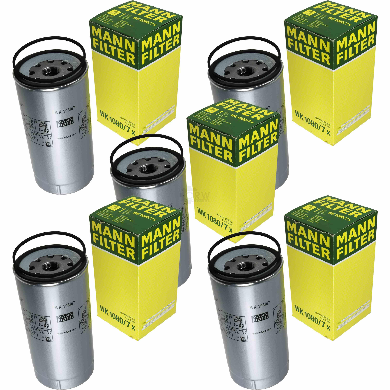 5 X Mann Filter Fuel Wk 1080 7 Ebay Deutz Filters