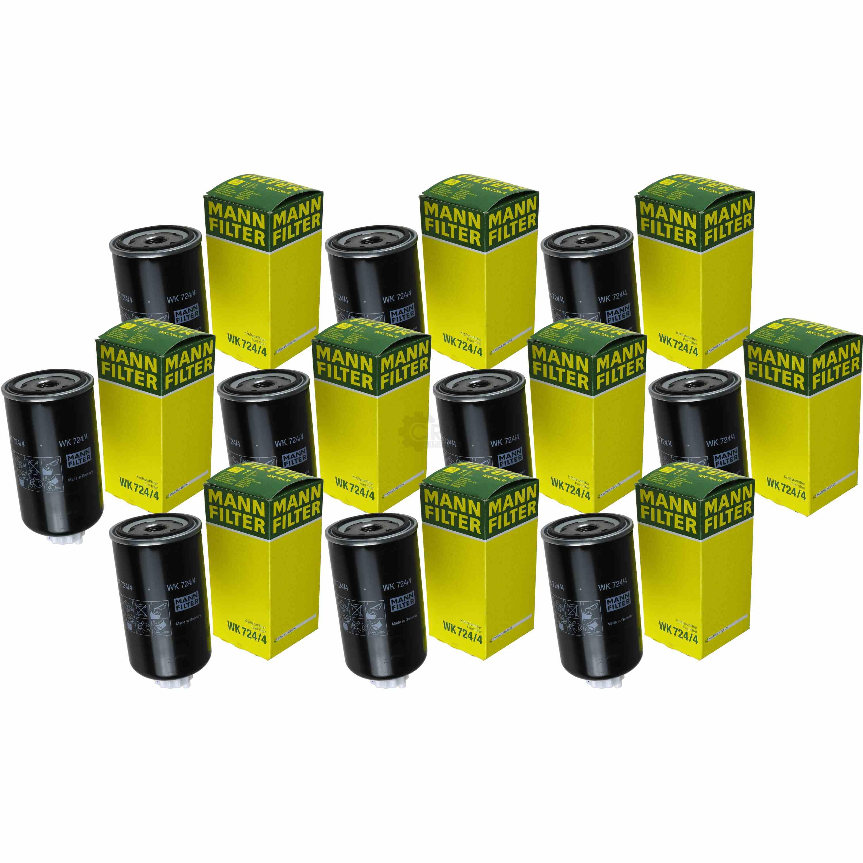 Original MANN-FILTER Kraftstofffilter WK 724//4 Fuel Filter