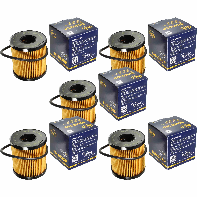 5x Sct Lfilter L Filter Oil Sh 4035 P Ebay 2014 Ford Focus 07 2009 11