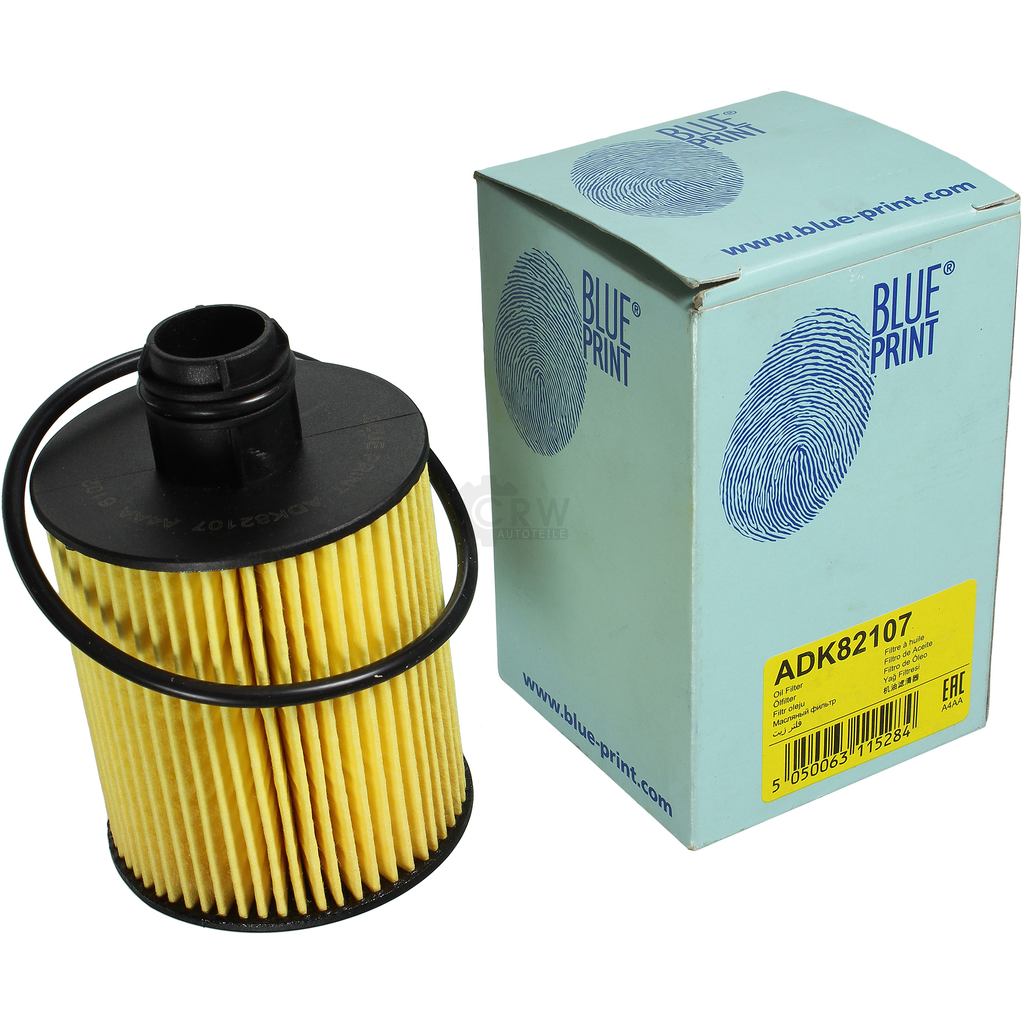 Genuine Blue Print Oil Filter with Gasket ADK82107 Oil Filter Oil | eBay