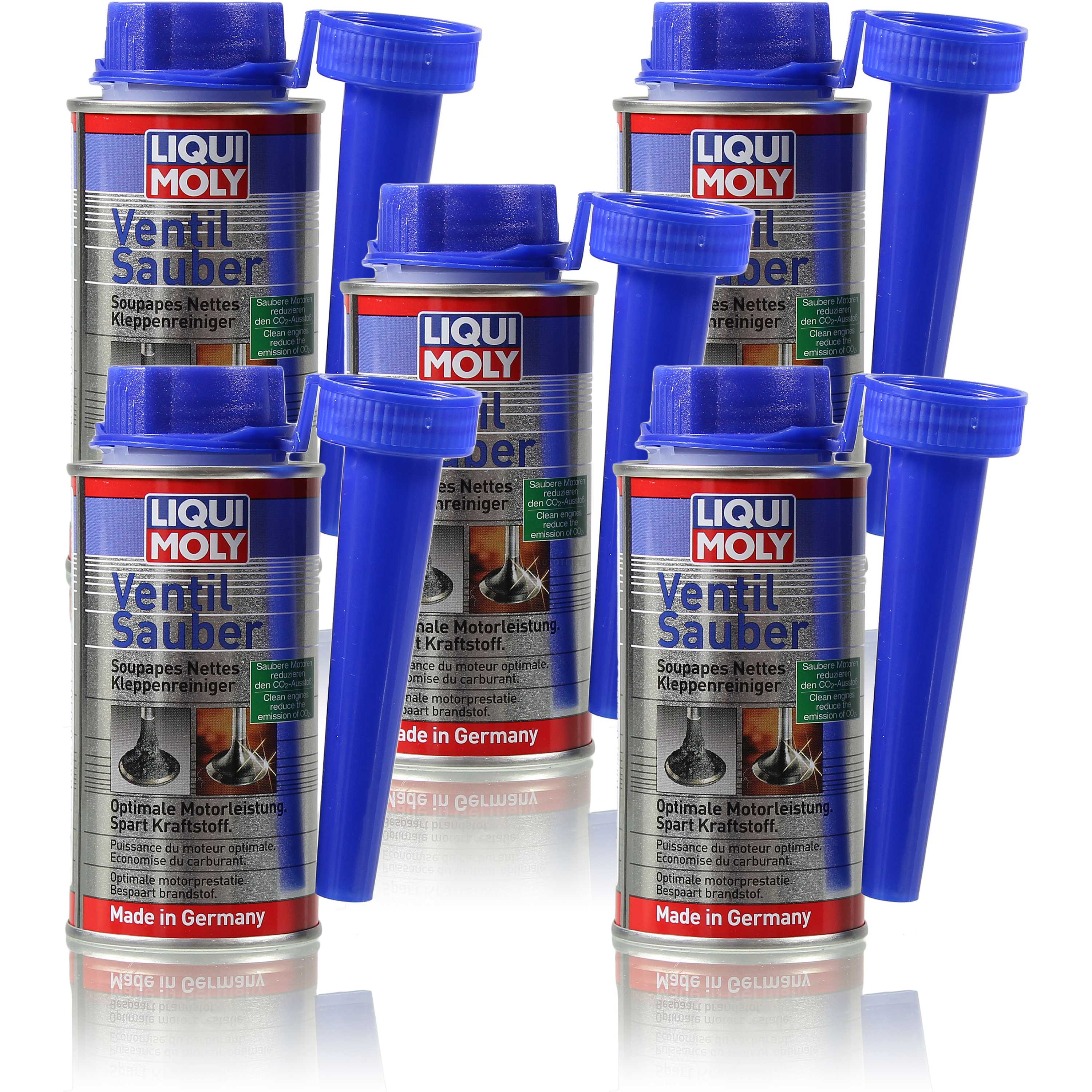 5x150 ml original liqui moly ventil sauber kraftstoff. Black Bedroom Furniture Sets. Home Design Ideas