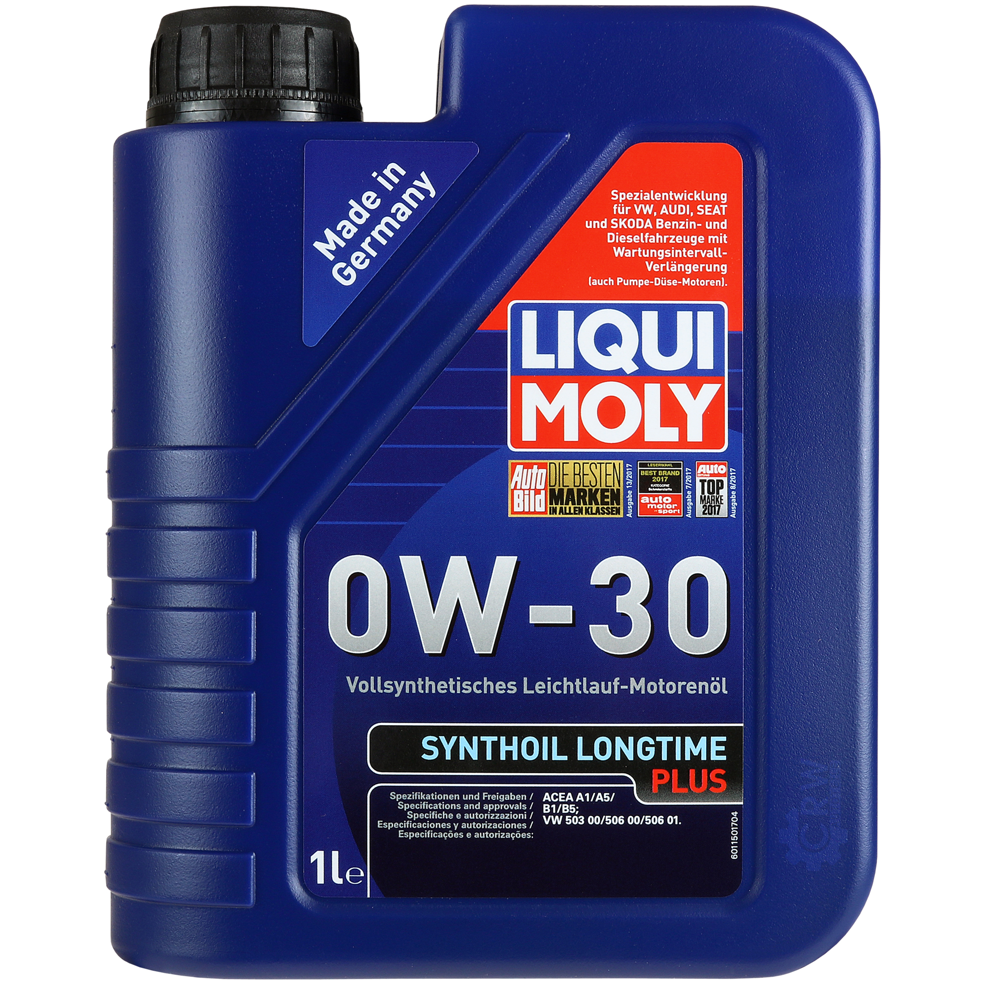 10x1l genuine liqui moly synthoil longtime plus 0w 30. Black Bedroom Furniture Sets. Home Design Ideas