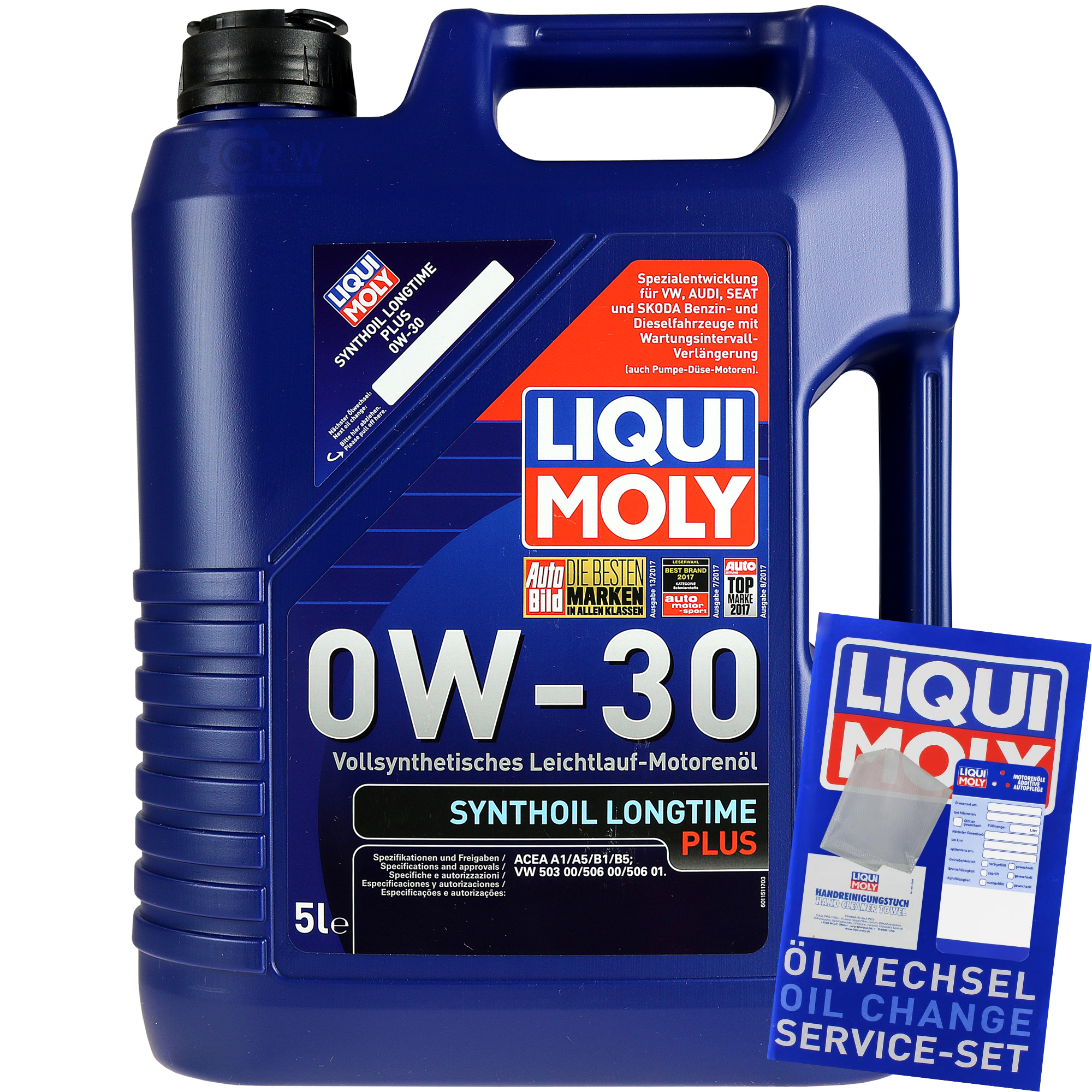 5 liter original liqui moly synthoil longtime plus 0w 30. Black Bedroom Furniture Sets. Home Design Ideas
