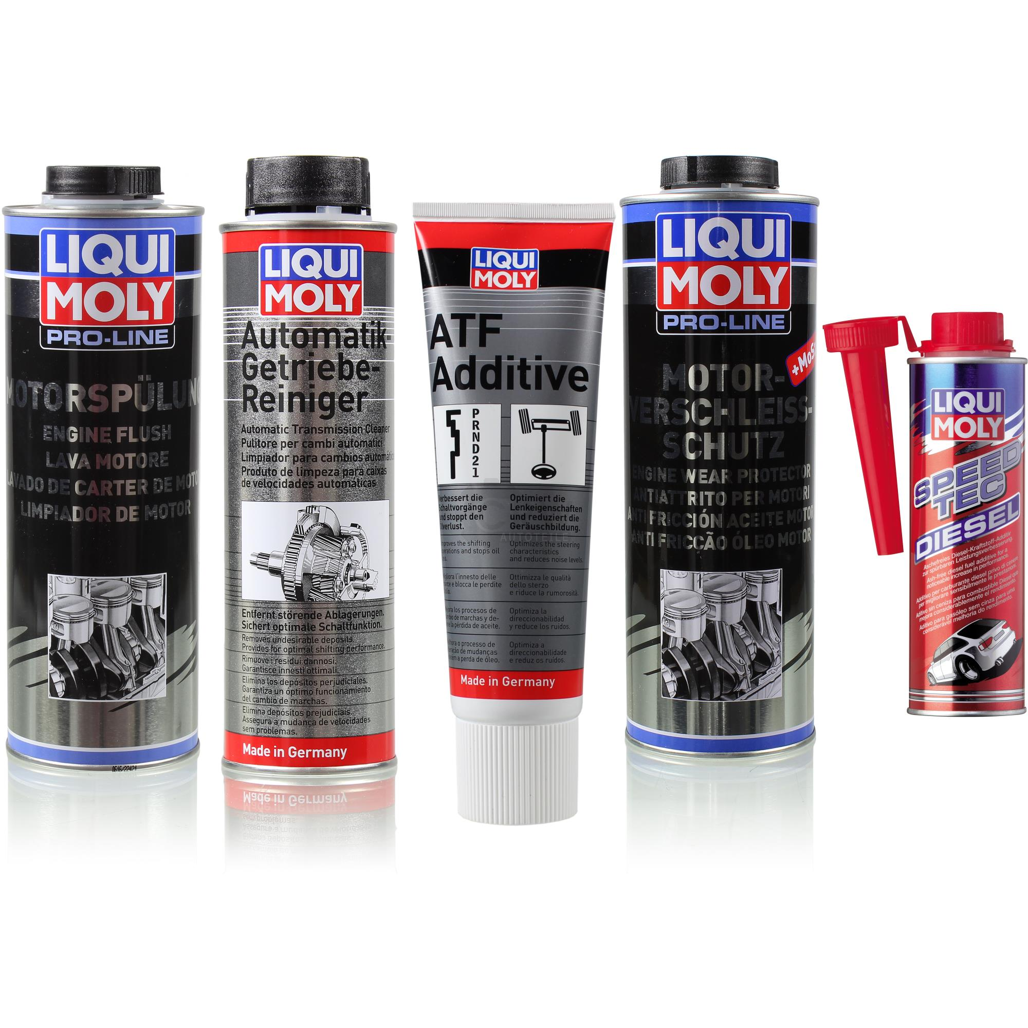 liqui moly pro line motor kraftstoff und aut getriebe. Black Bedroom Furniture Sets. Home Design Ideas