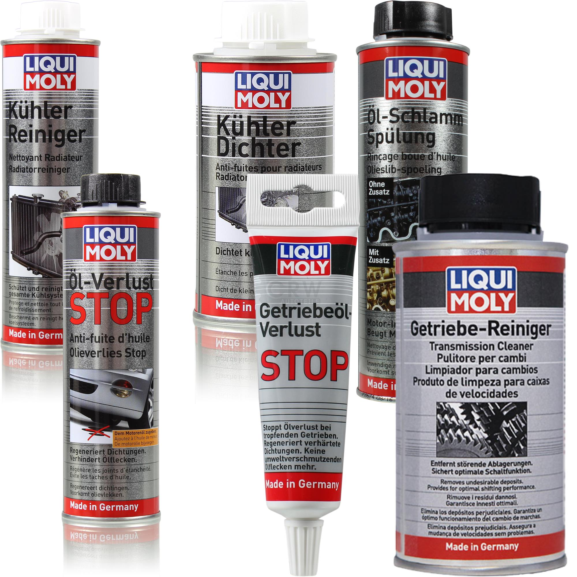 original liqui moly motor getriebe und k hler pflege set. Black Bedroom Furniture Sets. Home Design Ideas