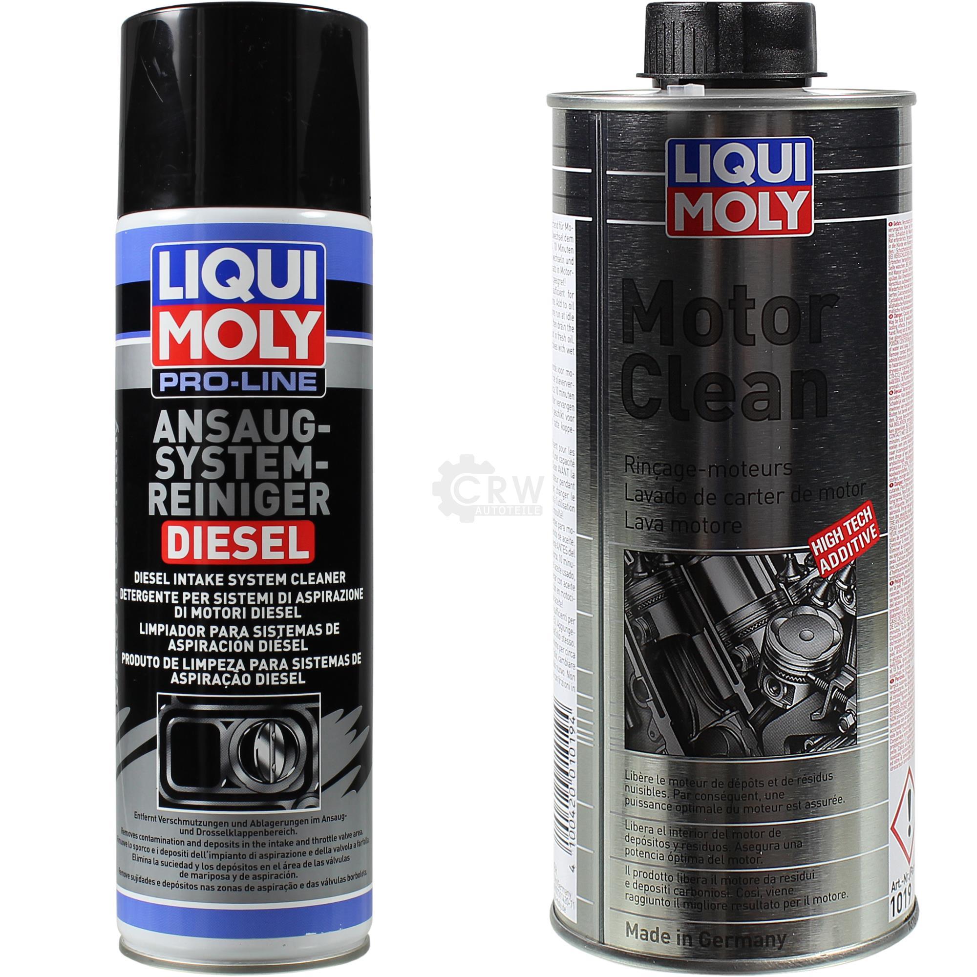 liqui moly set pro line ansaug system reiniger diesel und. Black Bedroom Furniture Sets. Home Design Ideas