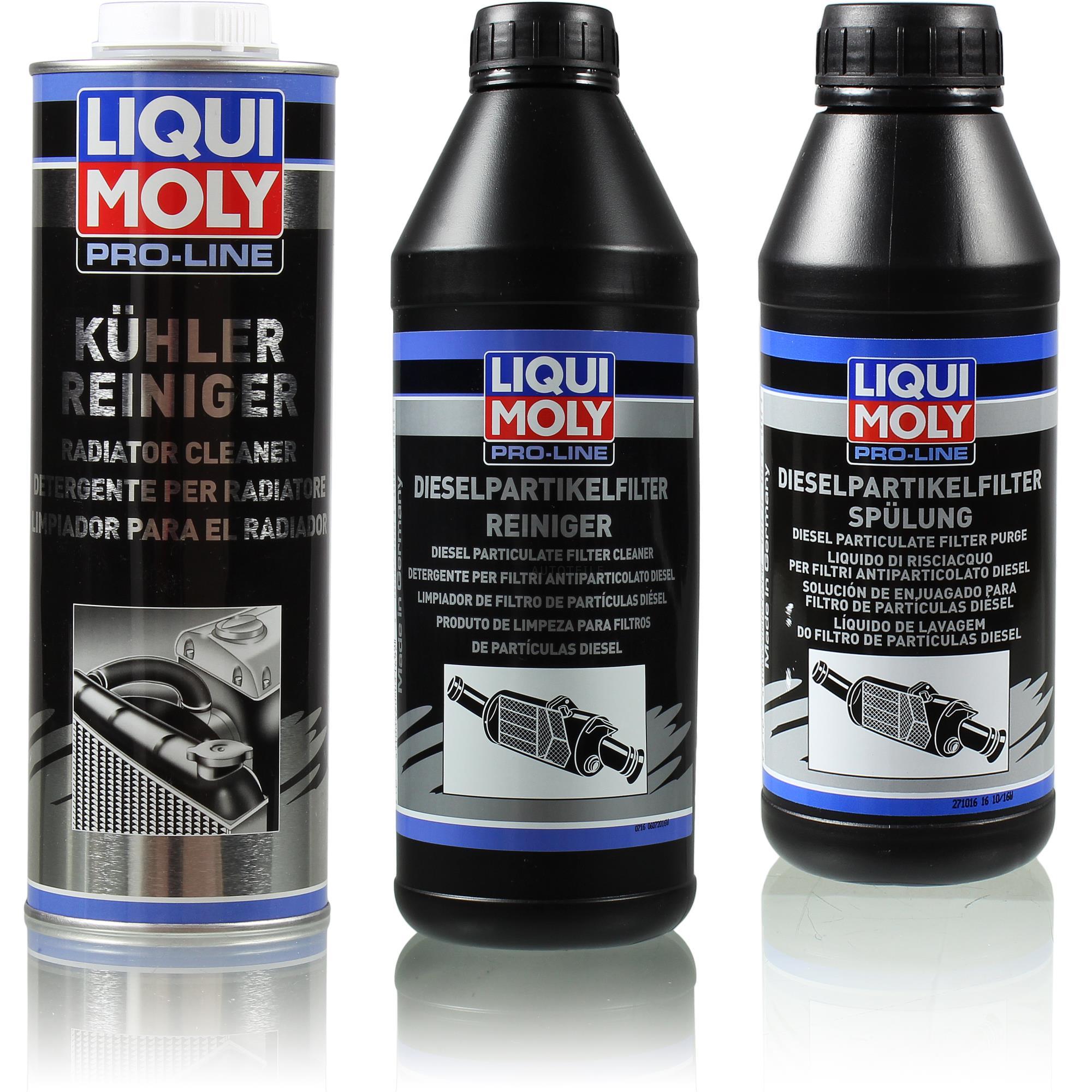 liqui moly pro line reiniger set k hler und. Black Bedroom Furniture Sets. Home Design Ideas