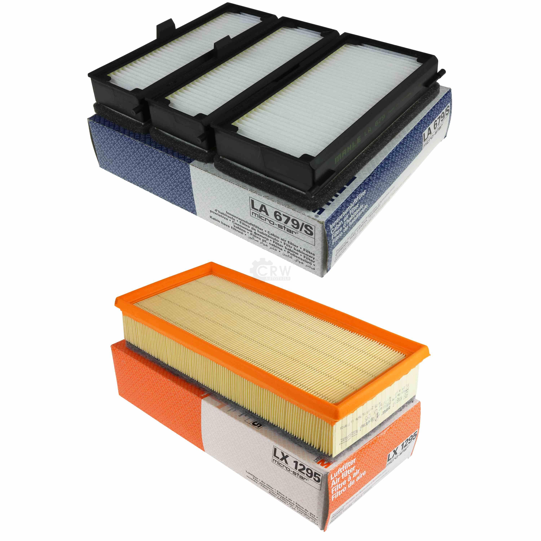 KNECHT Set Filterpaket Luftfilter LX 1827 Ölfilter OC 986 MAHLE