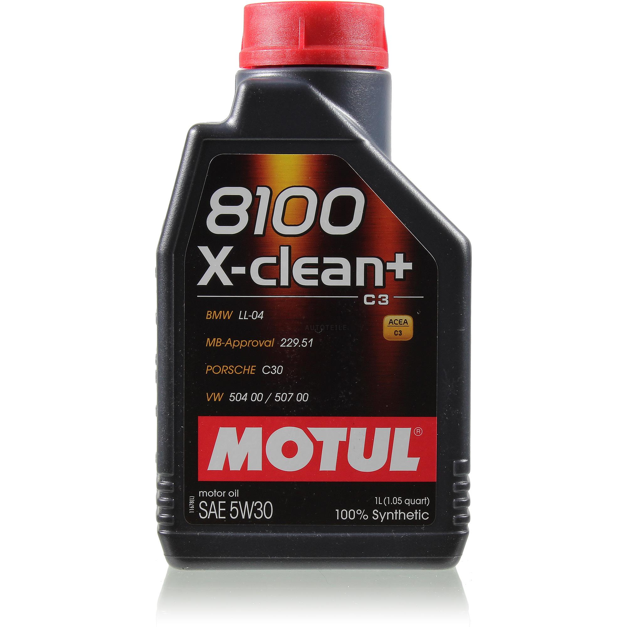 MOTUL 14 L 5W-30 Engine-Oil + Mann-Filter Audi Q7 4L 3.0