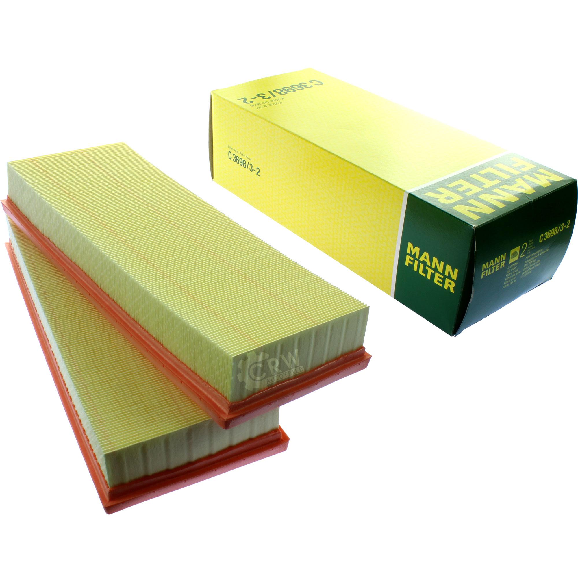 Inspektionspaket-10L-Mercedes-Ol-229-51-5W30-MANN-Luftfilter-Olfilter-11134262 Indexbild 3