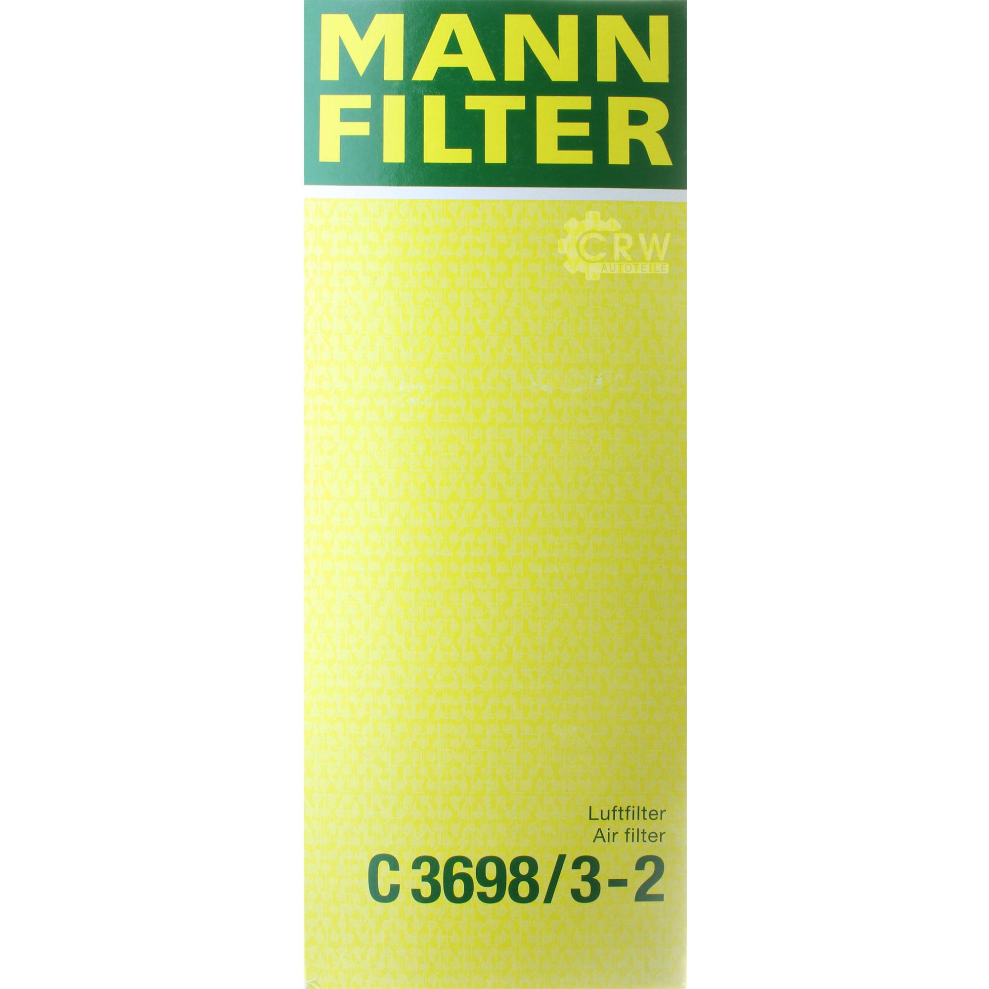 Inspektionspaket-10L-Mercedes-Ol-229-51-5W30-MANN-Luftfilter-Olfilter-11134262 Indexbild 6