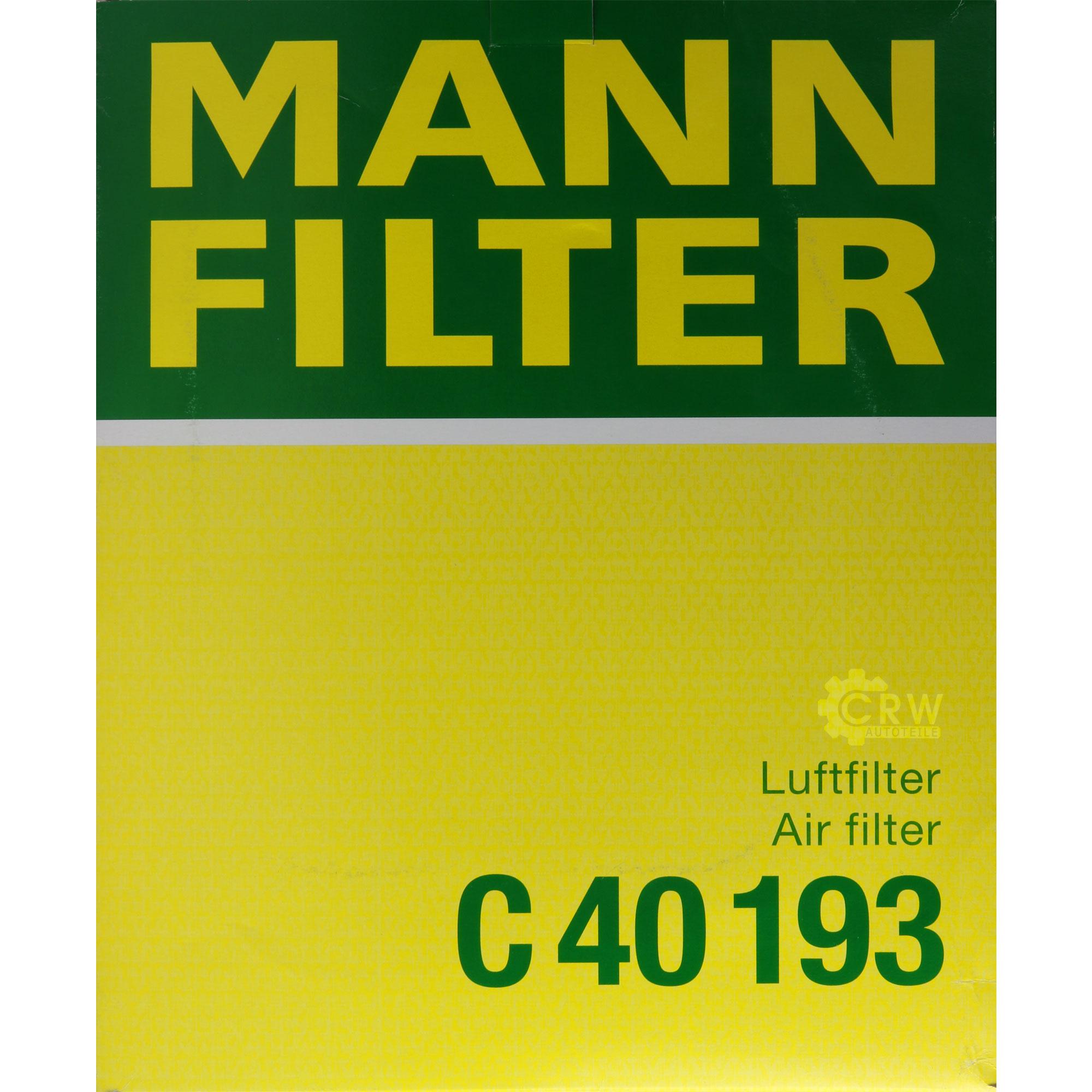 Motor-Ol-8L-MANNOL-Classic-10W-40-MANN-FILTER-Mercedes-Benz-Stufenheck-W124 Indexbild 11