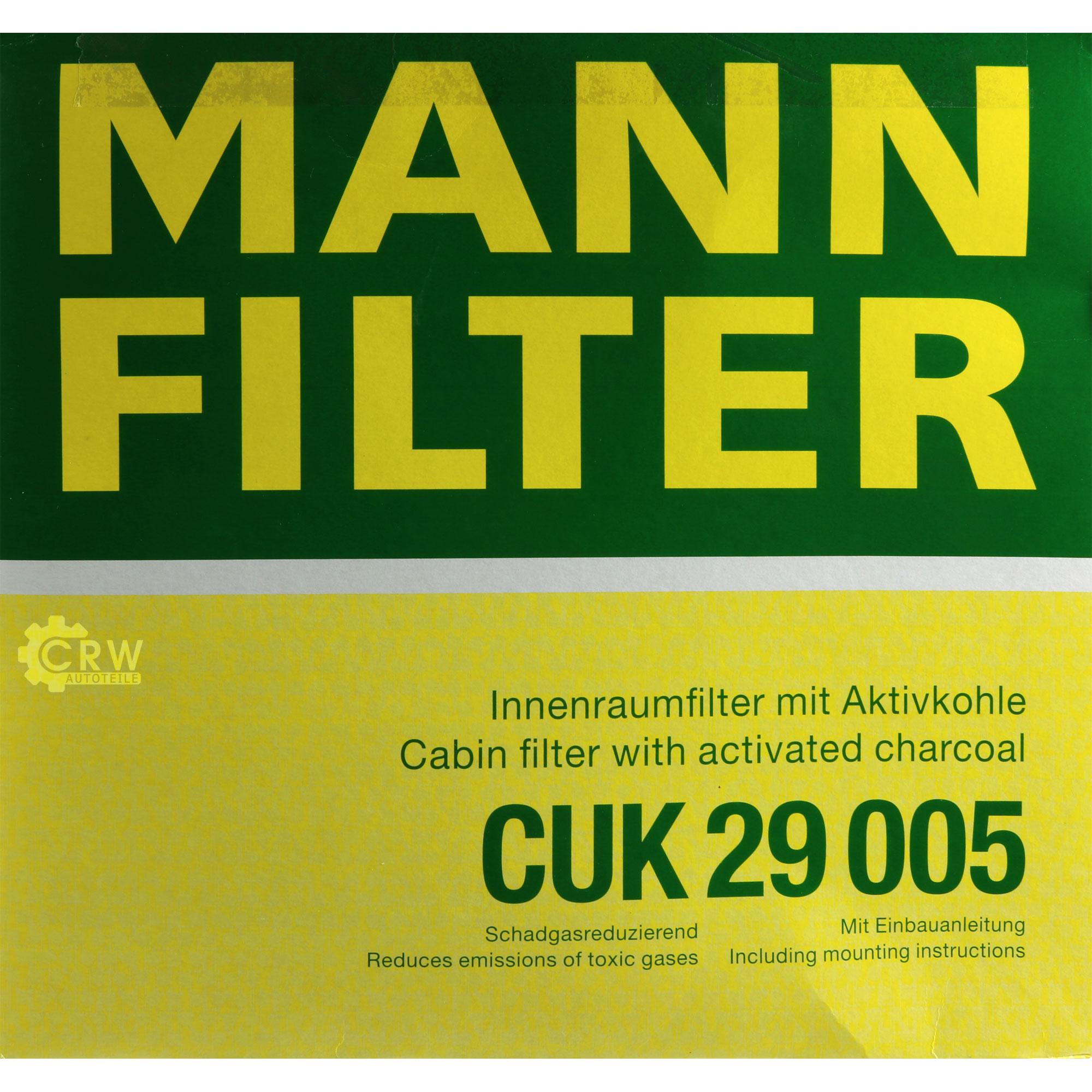 MANNOL-7-L-Energy-Premium-5W-30-MANN-FILTER-Mercedes-C-Klasse-W204-C-220-CDI Indexbild 6