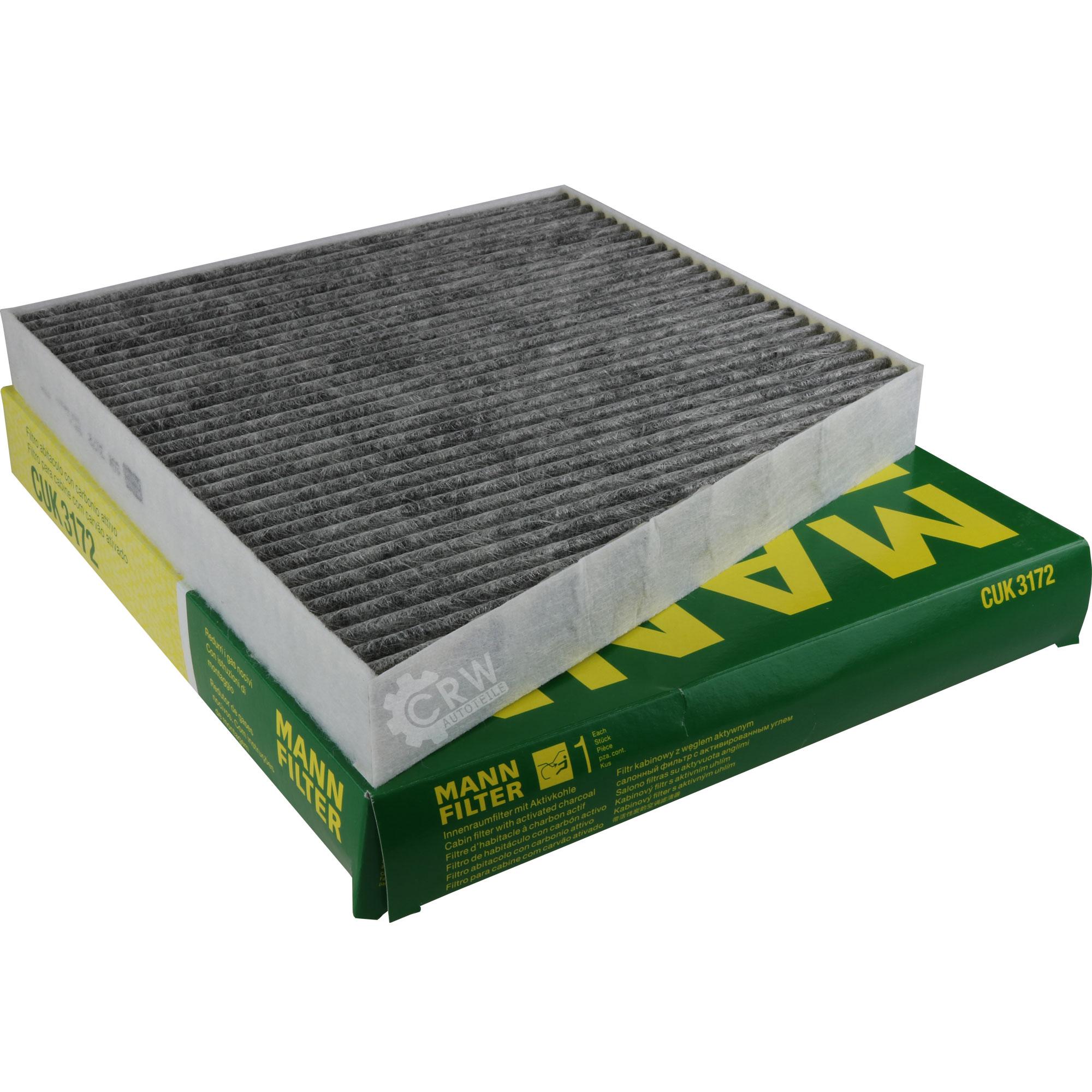 Inspektionspaket-10L-Mercedes-Ol-229-51-5W30-MANN-Filterpaket-11134374 Indexbild 4