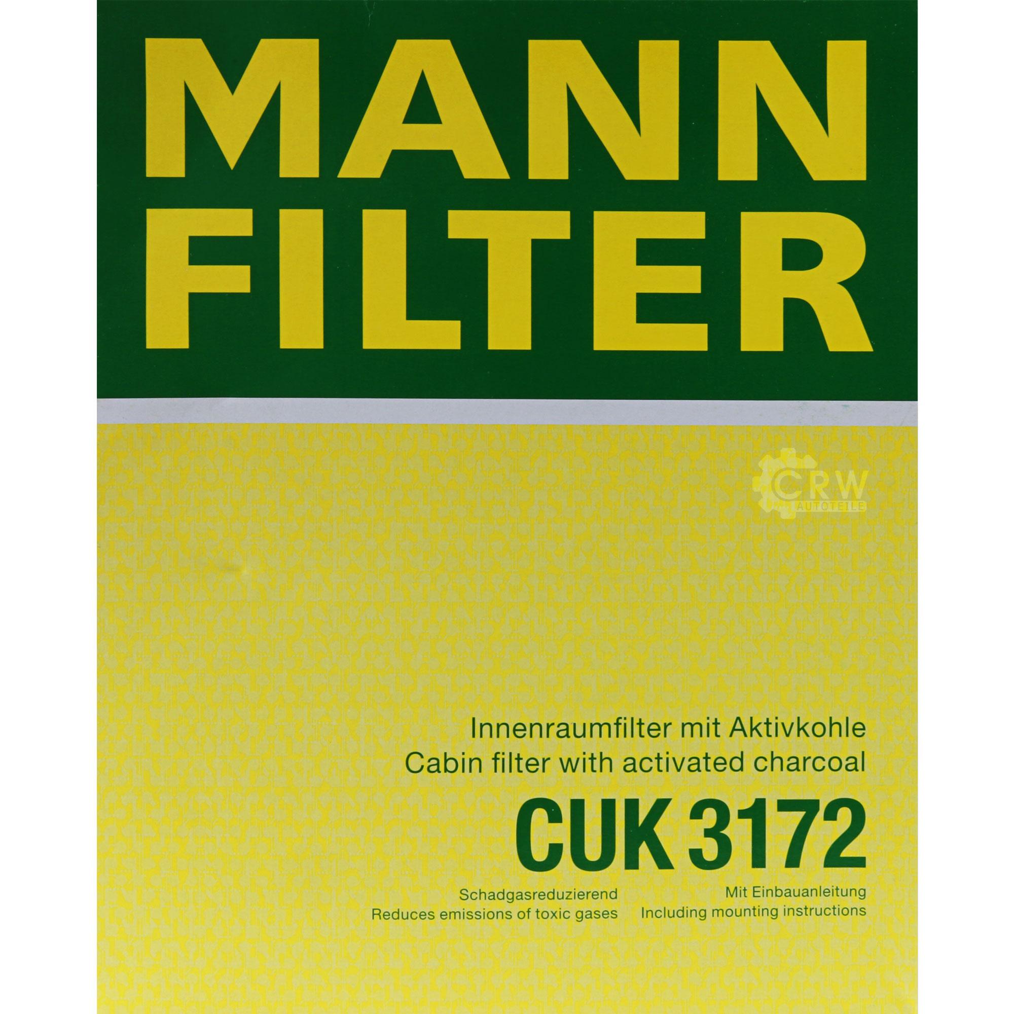 Inspektionspaket-10L-Mercedes-Ol-229-51-5W30-MANN-Filterpaket-11134374 Indexbild 8