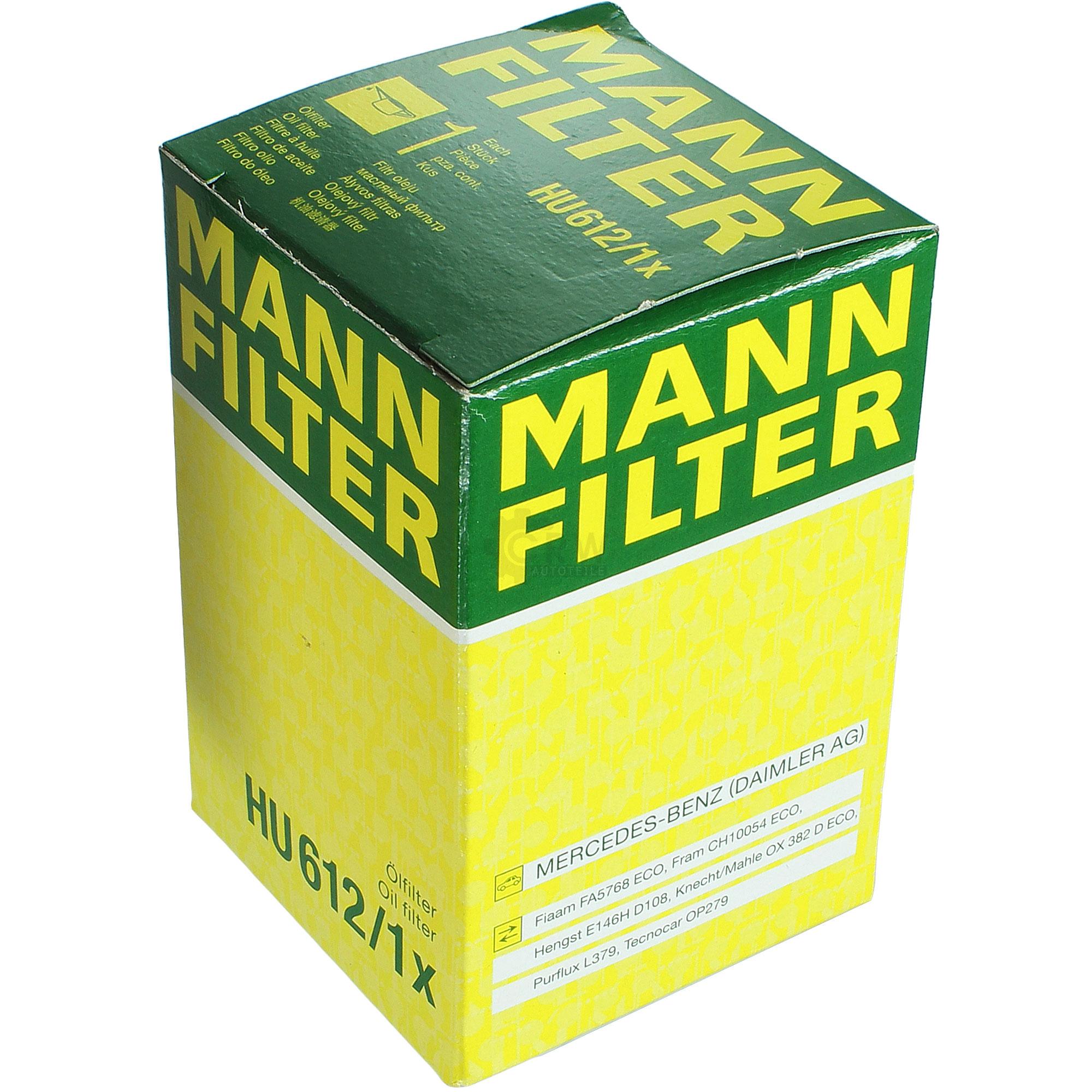 5L-Inspektionspaket-Mercedes-229-51-Motoroel-5W-30-MANN-Olfilter-11124917 Indexbild 4