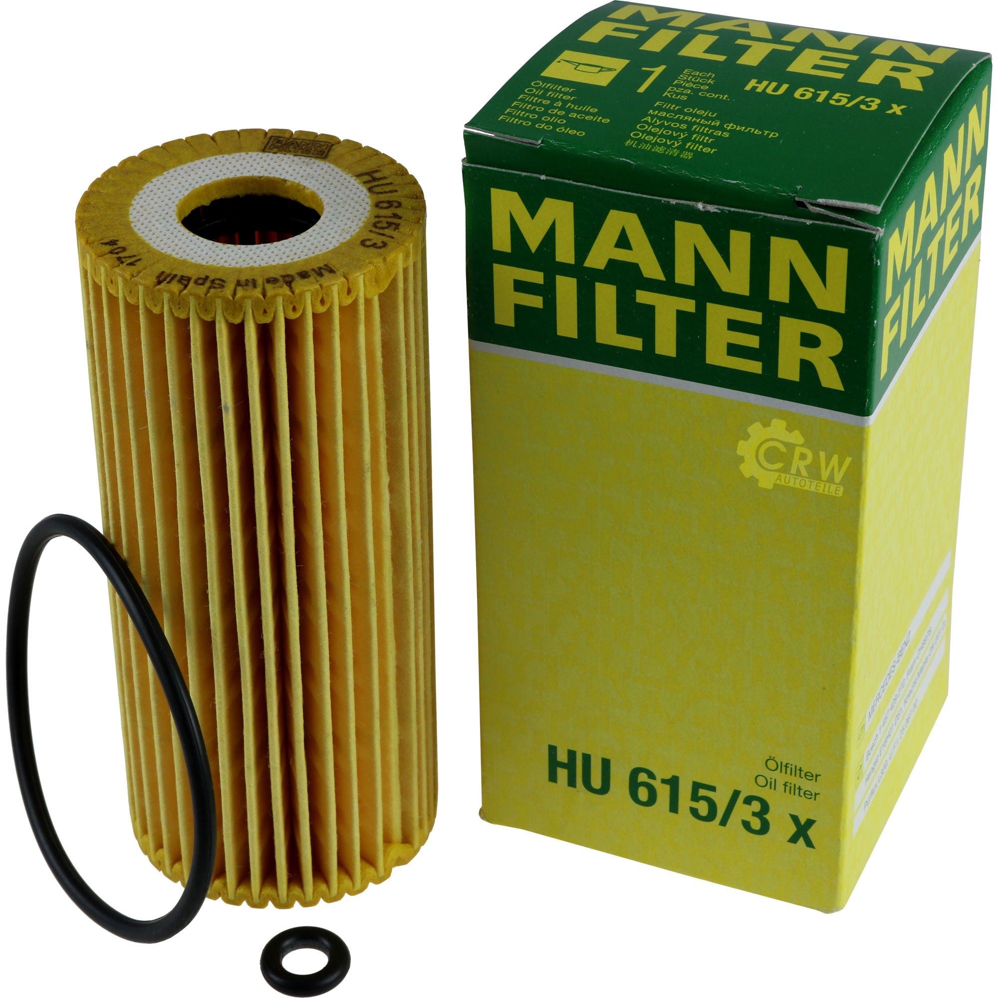 Inspektionspaket-5L-Mercedes-Ol-229-51-5W30-MANN-Filterpaket-11104090 Indexbild 5