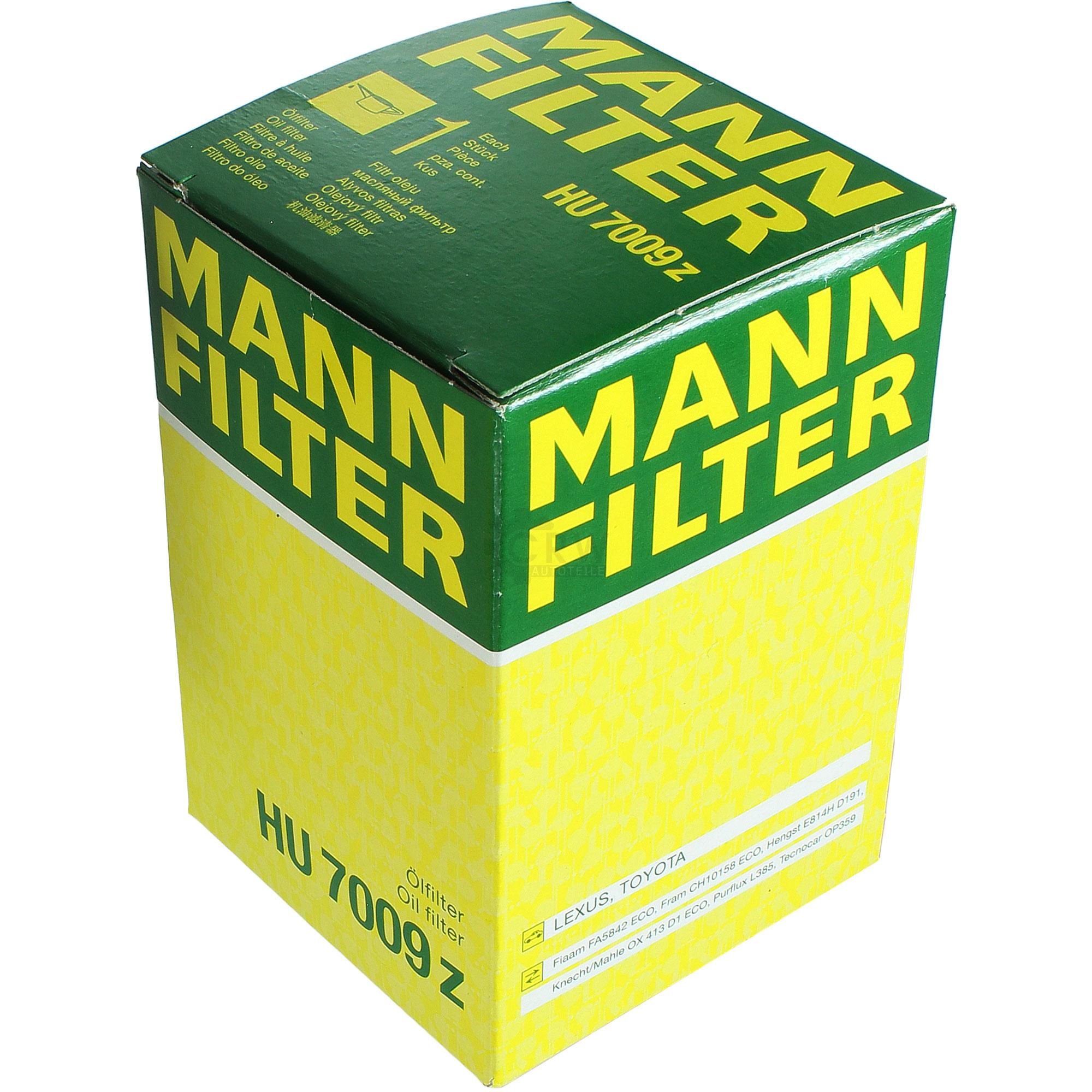 MANNOL-6L-Energy-Premium-MANN-FILTER-fuer-Toyota-Avensis-Kombi-T25-2-2-D-CAT Indexbild 9