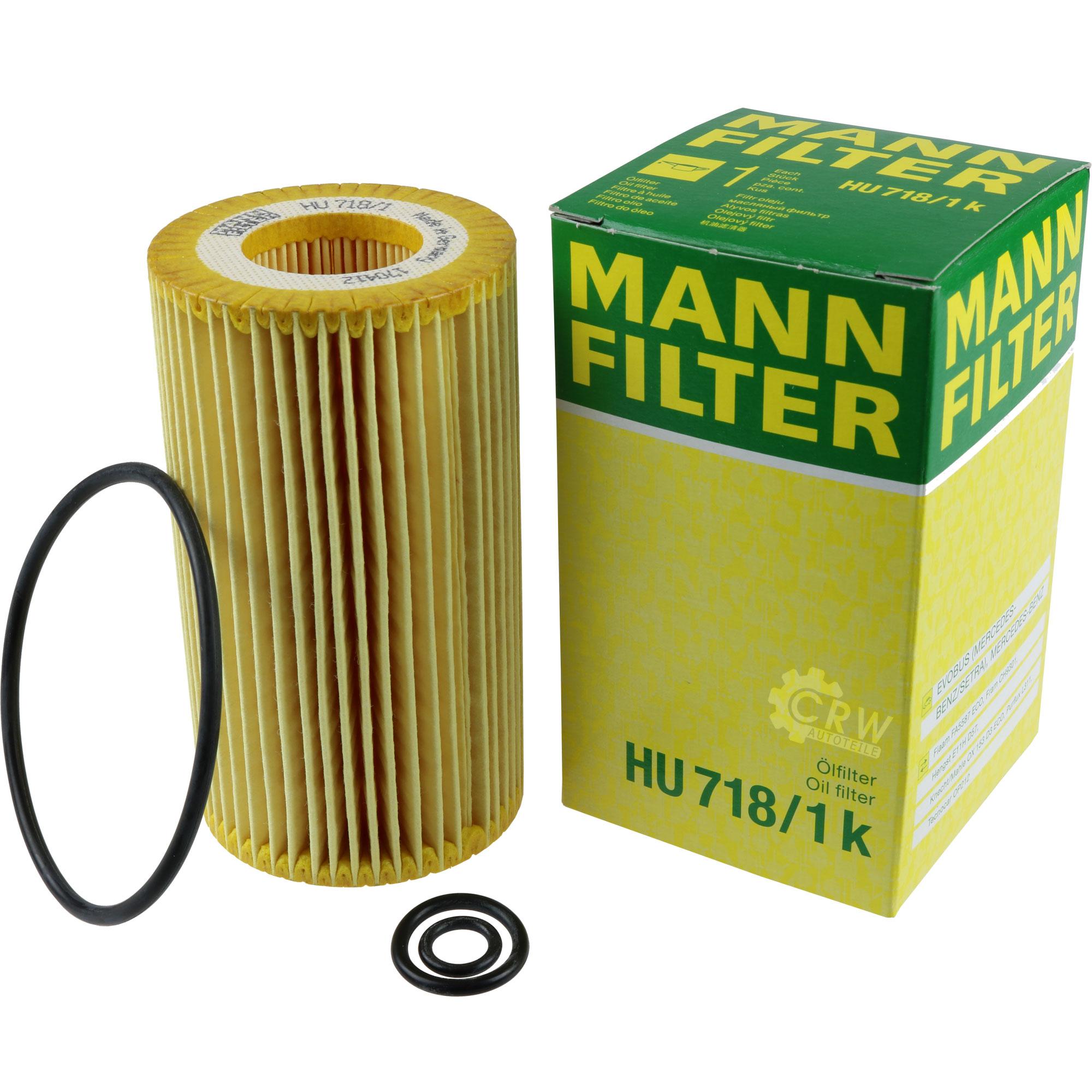 Motor-Ol-6L-MANNOL-Classic-10W-40-MANN-FILTER-Mercedes-Benz-C-Klasse-W202 Indexbild 10