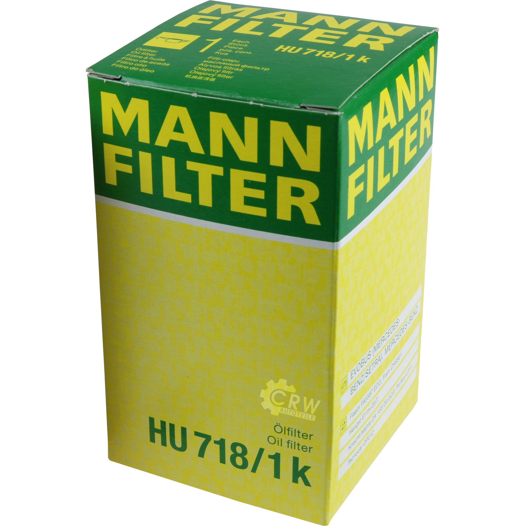 Motor-Ol-6L-MANNOL-Classic-10W-40-MANN-FILTER-Mercedes-Benz-C-Klasse-W202 Indexbild 11