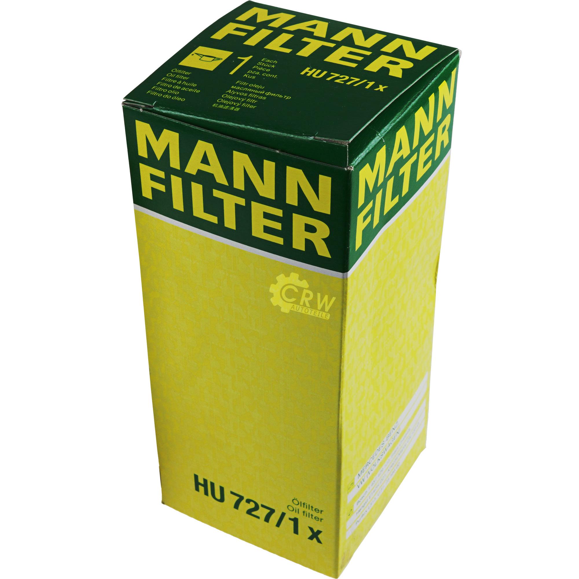 Motor-Ol-8L-MANNOL-Classic-10W-40-MANN-FILTER-Mercedes-Benz-Stufenheck-W124 Indexbild 9