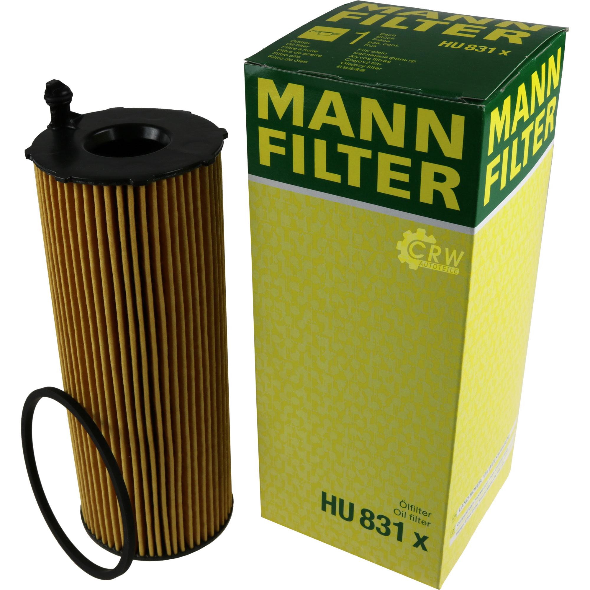 Motor Oil 10l Mannol 5w-30 Combi Ll + Mann Filter Air Audi