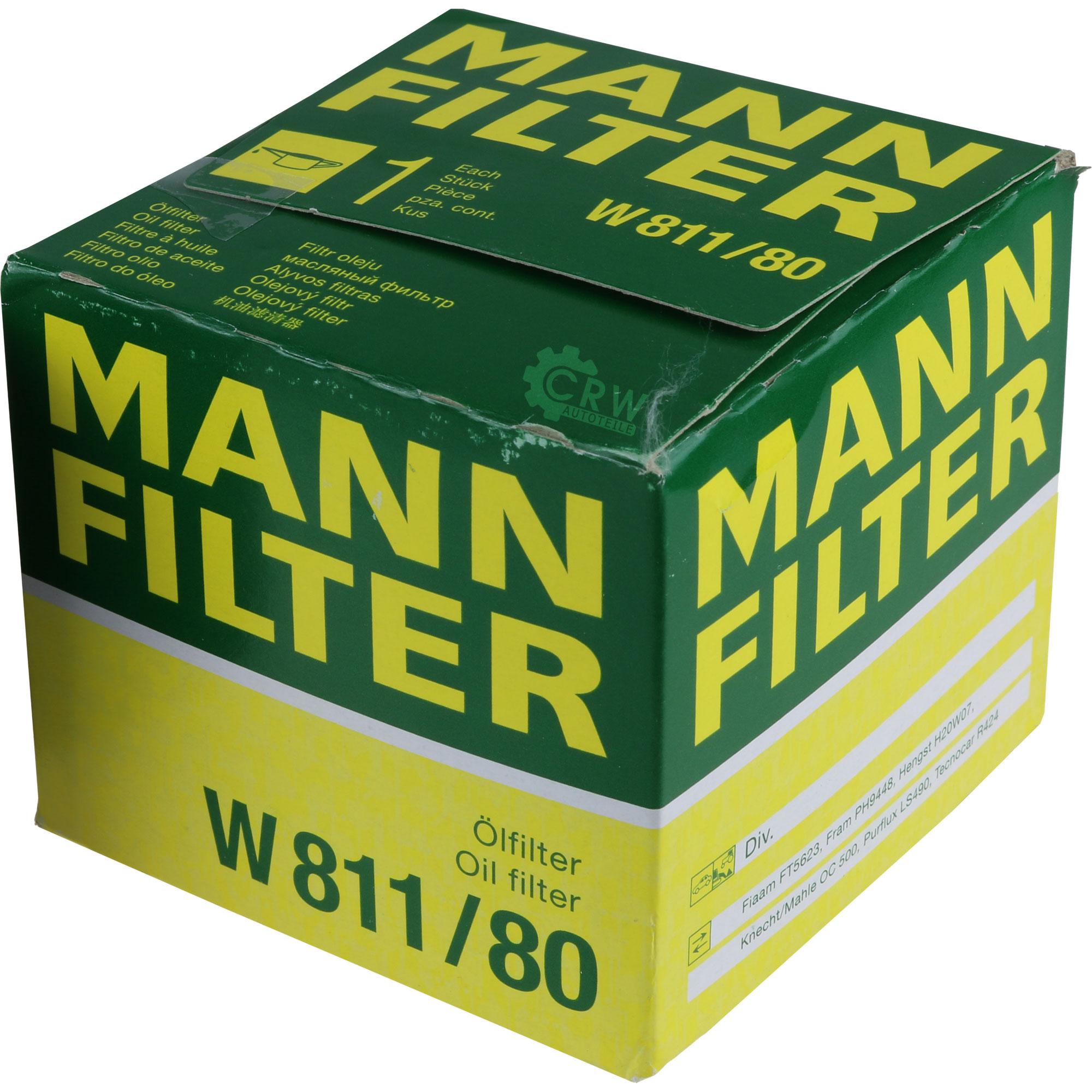 Filtre à Huile Filtre Neuf Homme-Filtre W 8017