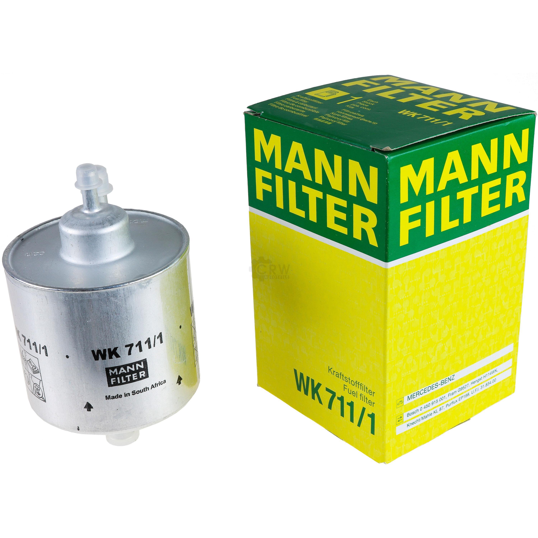 ORIGINAL MANN-FILTER KRAFTSTOFFFILTER KRAFTSTOFF FILTER MERCEDES WK 711//1