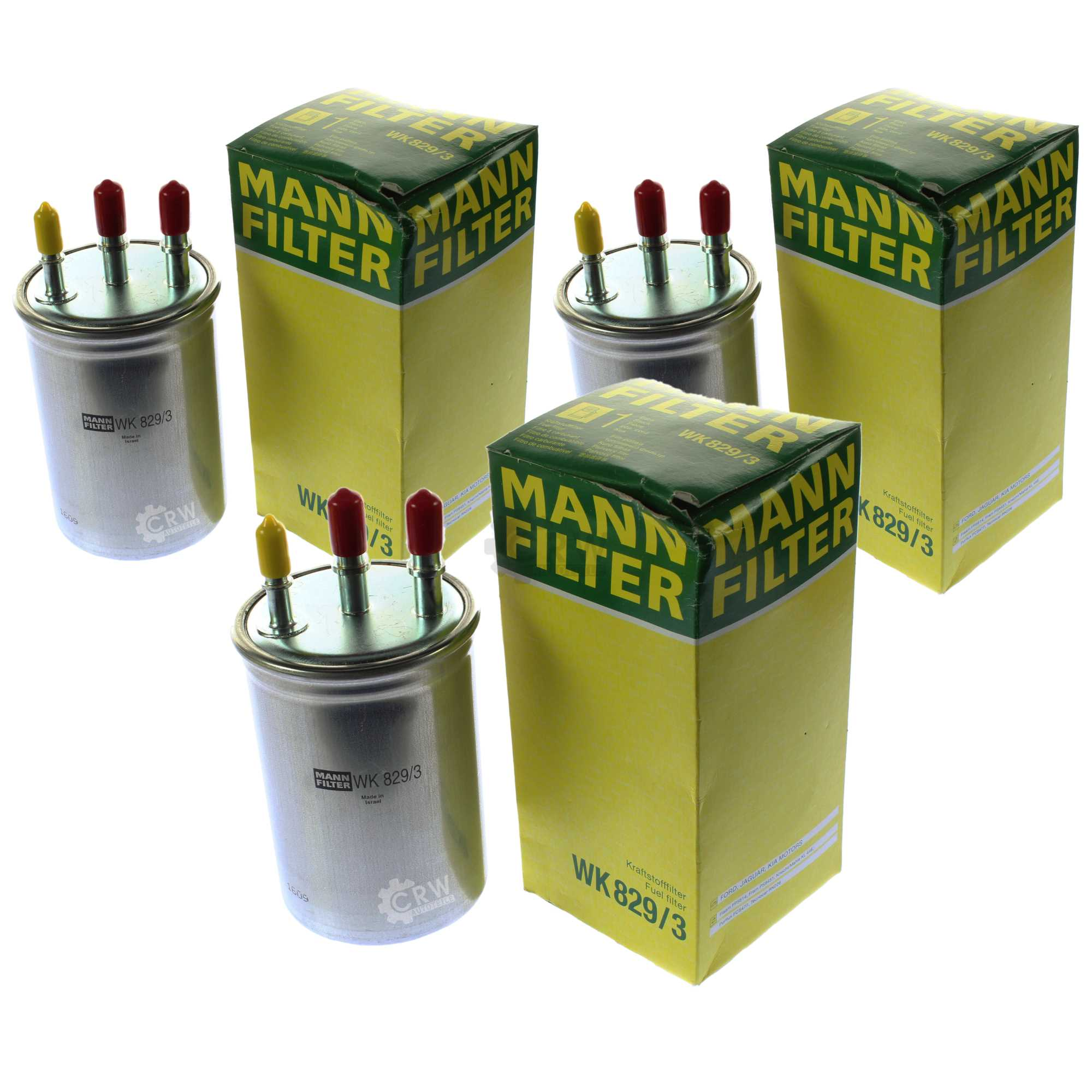 Fuel Filter Drain Plug 3x Genuine Mann Wk 829 3 Ebay Design With Water