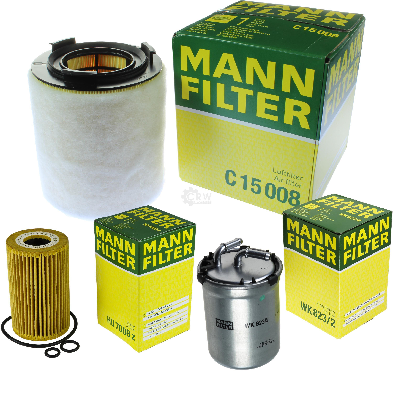 Set M Luftfilter+Ölfilter+Innenraumfilter Inspektionssatz AUDI SEAT VW