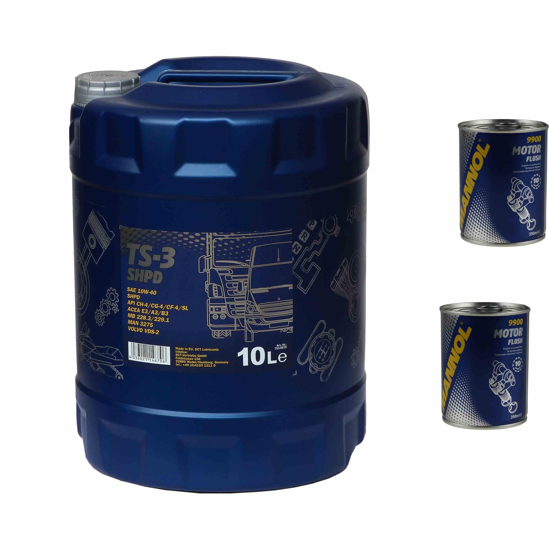 10l motor l mannol ts 3 shpd 10w 40 2x mannol motor flush. Black Bedroom Furniture Sets. Home Design Ideas
