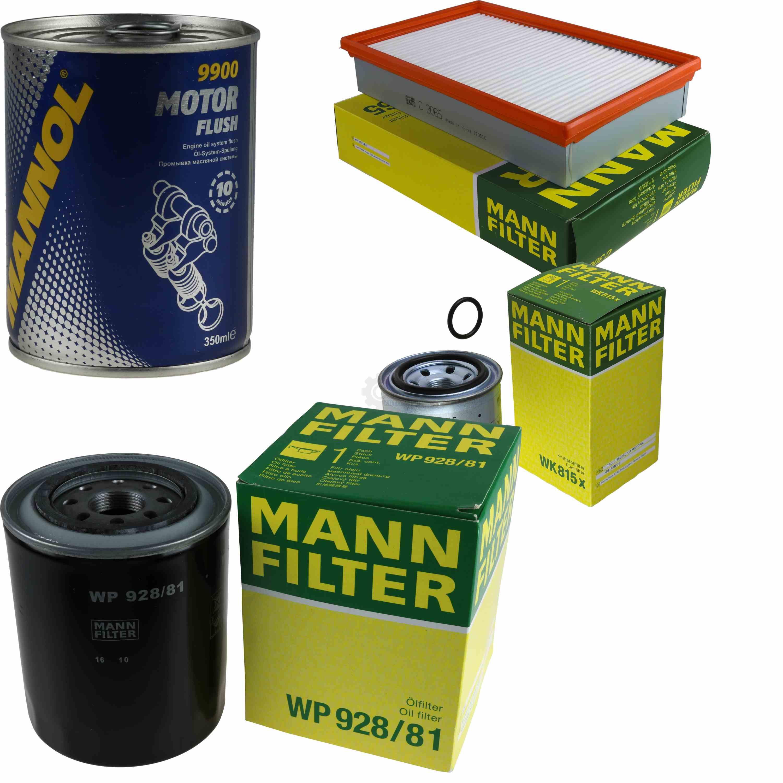 Original-MANN-Filter-Inspektionspaket-Set-SCT-Motor-Flush-Motorspuelung-11574489