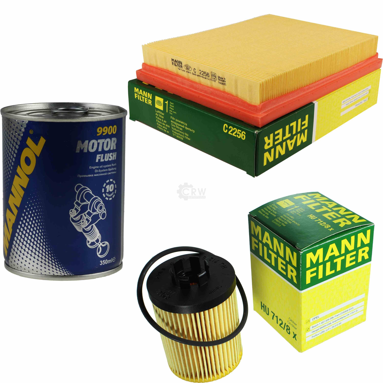 original mann filter inspektionspaket set sct motor flush. Black Bedroom Furniture Sets. Home Design Ideas