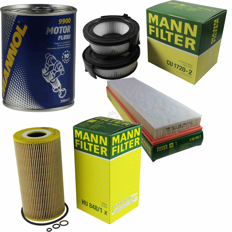 SCT Germany Inspektions Set Inspektionspaket Luftfilter /Ölfilter Innenraumfilter