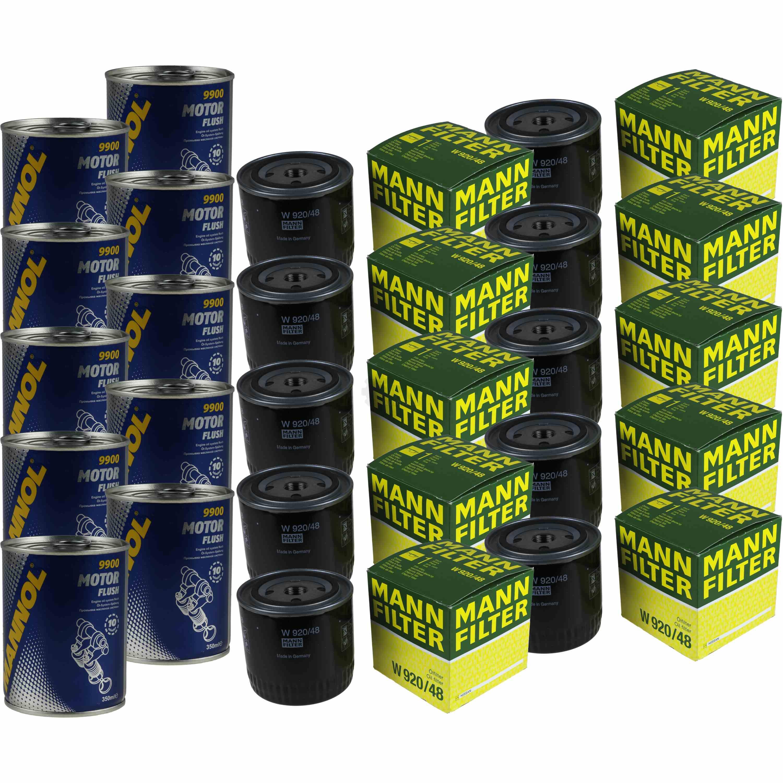 10x genuine man oil filter w 920 48 10x sct motor flush. Black Bedroom Furniture Sets. Home Design Ideas