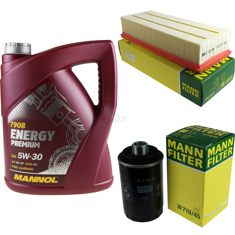 MANNOL-5-l-energy-premium-5w-30-Mann-Filter-skoda-superb-3t4-1-8-ETI-4x4