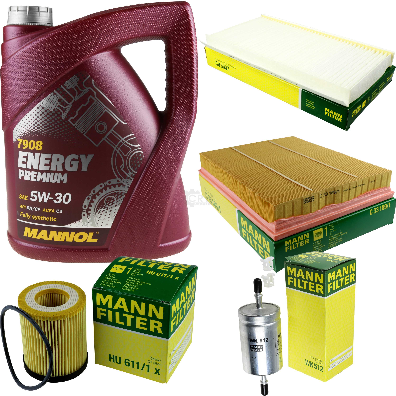 5l Mannol Energy Premium 5w -30+ Mann-filter Filtro Pacchetto Opel Vectra C-ter Filterpaket Opel Vectra C It-it Mostra Il Titolo Originale Prezzo Moderato