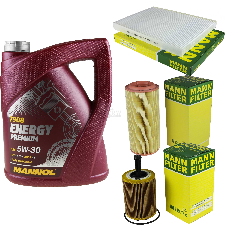 5l Mannol Energy Premium 5w -30+ Mann-filter Filtro Pacchetto Vwlupo 6x1 6e1 1.4 Tdi-ter Filterpaket Vwlupo 6x1 6e1 1.4 Tdi It-it Mostra Il Titolo Originale