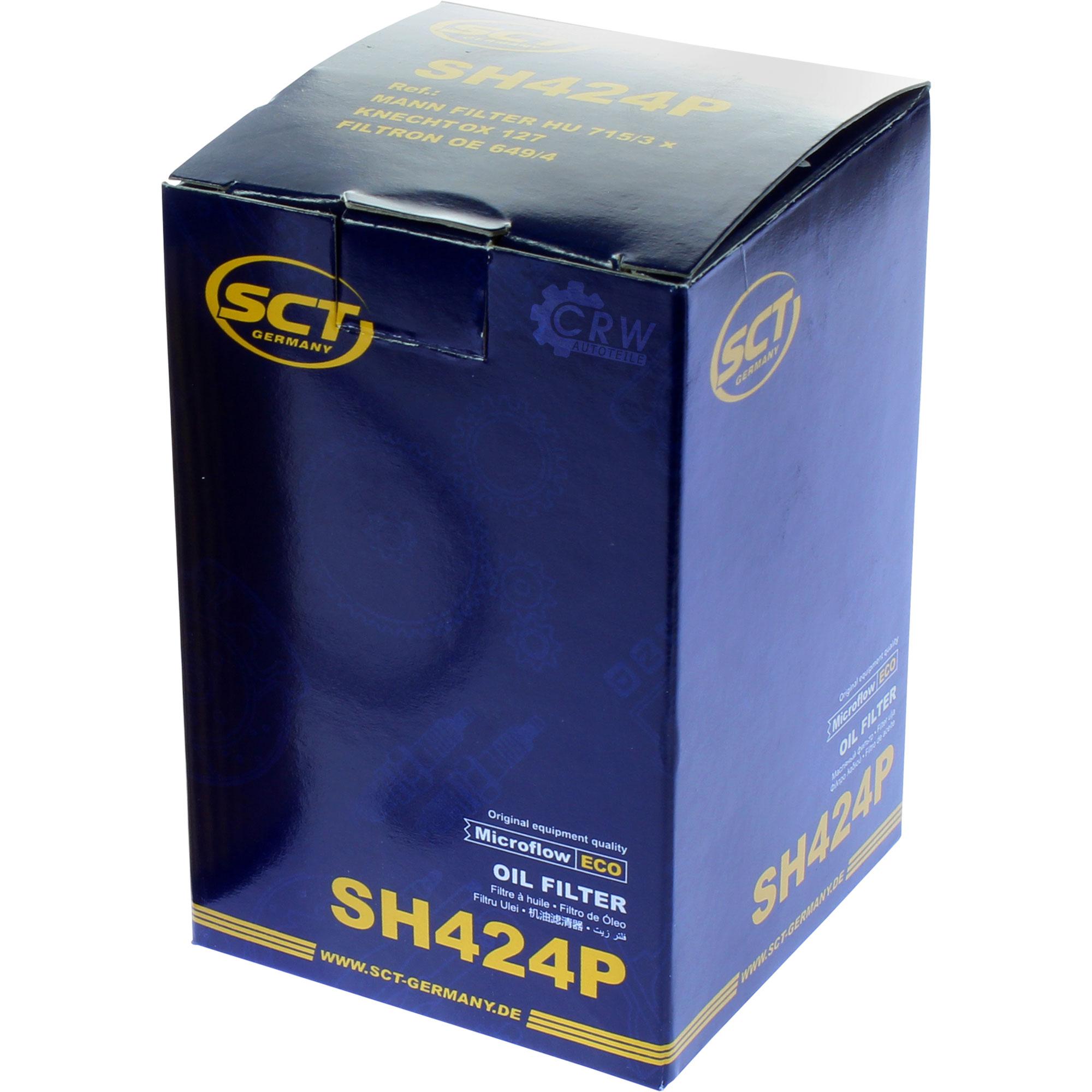 Cambio-de-aceite-set-5l-MANNOL-energy-premium-5w-30-aceite-del-motor-filtro-sct-kit-10140076 miniatura 10