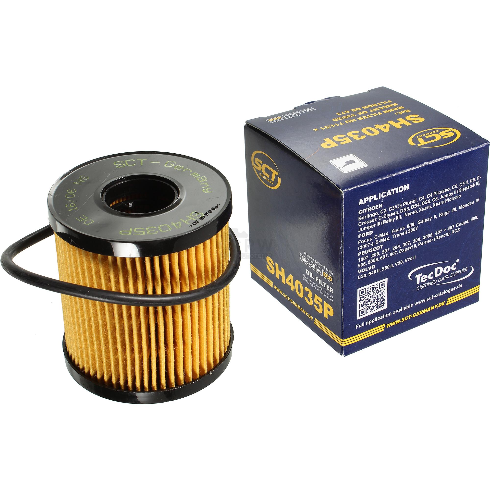 Olwechsel-Set-7L-MANNOL-Extreme-5W-40-Motoroel-SCT-Filter-KIT-10198612 Indexbild 2