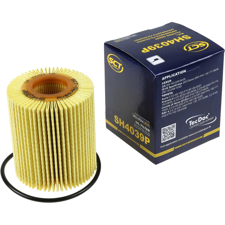 Cambio-de-aceite-set-7l-MANNOL-energy-premium-5w-30-aceite-del-motor-filtro-sct-kit-10196722 miniatura 3