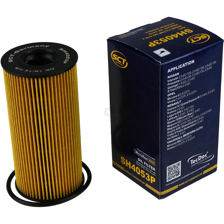 Olwechsel-Set-8L-MANNOL-Extreme-5W-40-Motoroel-SCT-Filter-KIT-10201080 Indexbild 2