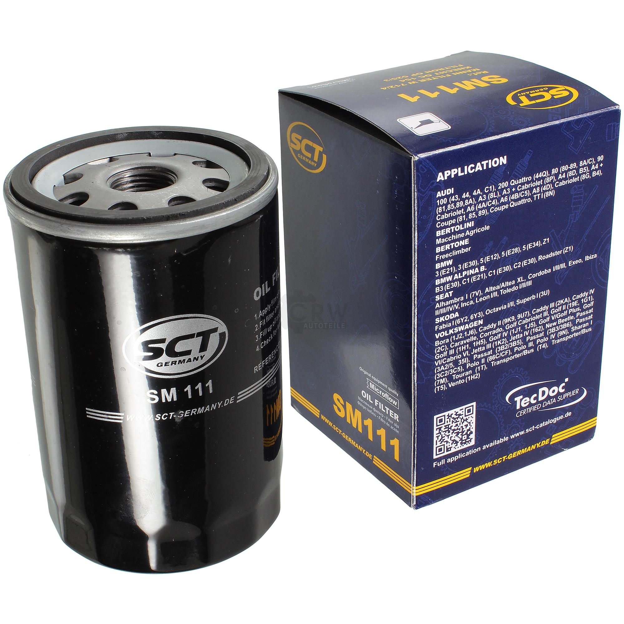 Olwechsel-Set-6L-MANNOL-Extreme-5W-40-Motoroel-SCT-Filter-KIT-10190815 Indexbild 2