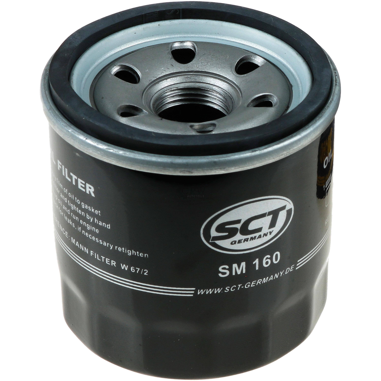 Olwechsel-Set-6L-MANNOL-Extreme-5W-40-Motoroel-SCT-Filter-KIT-10190823 Indexbild 7