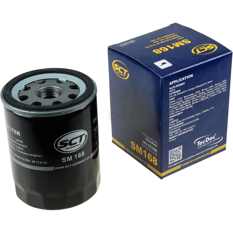Olwechsel-Set-6L-MANNOL-Extreme-5W-40-Motoroel-SCT-Filter-KIT-10190828 Indexbild 2